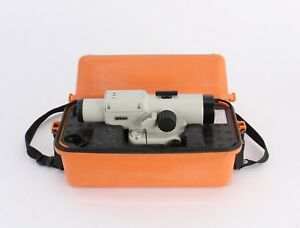 Nikon As 2 34x Automatic Builders Level Transit W Case