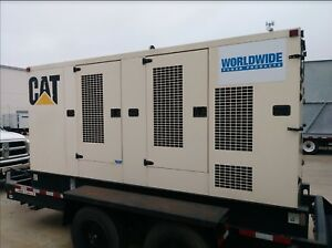 Caterpillar Xq200 Portable Generator Set 200 Kw Standby 60hz Sa Enclosed