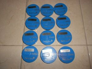 Lot Of 12 Reditoo Cw150 Ccw150 Beveled Edge 3 Diamond Disc Concrete Grinding