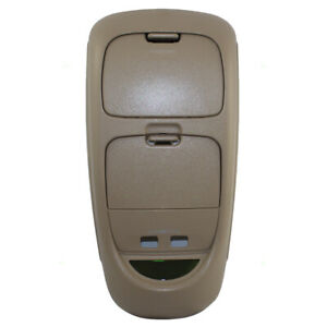 02 03 04 Ford Super Duty Pickup Truck Parchment Tan Overhead Celing Roof Console