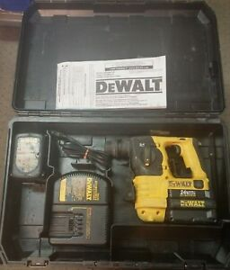 Dewalt Dc223 Heavy duty 24v Cordless Rotary Hammer W battery Charger
