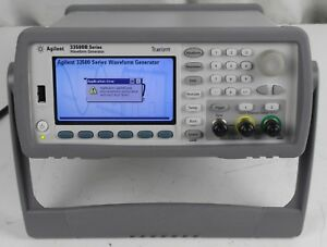 Agilent 33500b Series Waverform Generator Parts repair Sold As is