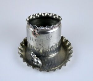Very Nice Pairpoint Mfg Co The Rat That Ate The Malt Pick Holder 3708