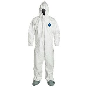 Dupont Tyvek Ty122safety 3xl Coverall Size 3xl 25 Per Case