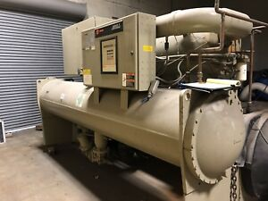 Trane Industrial Water Cooled Chiller Series R Centravac