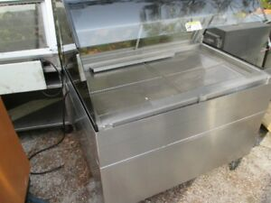 Alto Shaam 48 Countertop Self serve Heated Food Warmer Hot Display Case W Stand