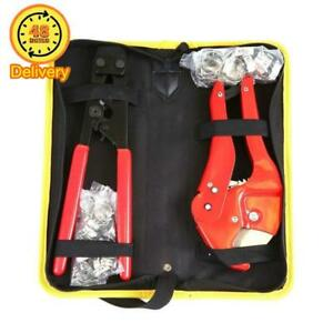 Pex Crimping Clamp Cinch Tool And Pipe Hose Cutter Pex Crimper Pipe Fitting Too