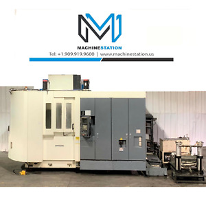 Kitamura Hx 500i Horizontal Machining Center Hmc 12000 Rpm Cat 50 Tsc Mori Mazak