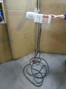 Coffing 1 T Ton 2000 Lb 1hp Electric Chain Hoist 230 460v 3ph 16 Fpm 89 Drop