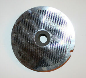 Sharptech Southern Saw Meat Grinder Plate Die 8 1 2 Diameter 3 32 Holes