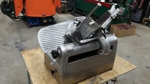 Hobart 1712e Deli Meat Slicer Both Manual 2 Speed Automatic Operation