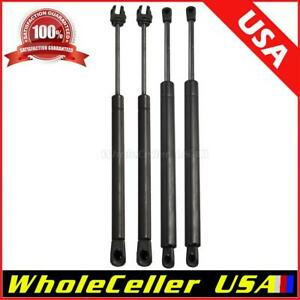 4x 6103 Rear Trunk 6303 Front Hood Lift Supports Struts For 05 2008 Dodge Magnum