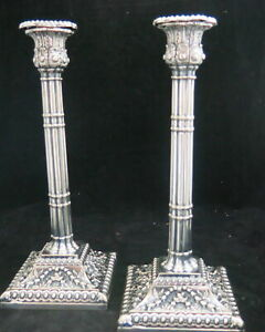 Silver Plated Candle Sticks