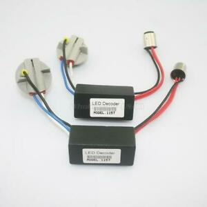 2x 1157 2357 Hyper Flash Fix No Error Wiring Adapters For Led Turn Signal Lights