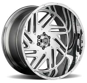 26 Inch 26x14 Hardcore Offroad Hc11 Chrome Wheel Rim 6x5 5 6x139 7 76
