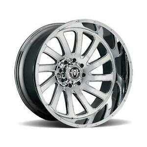 26 Inch 26x14 Hardcore Offroad Hc15 Chrome Wheels Rims 8x170 76