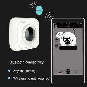 Wireless Bluetooth Portable Pos Thermal Picture Photo Printer For Android Ios