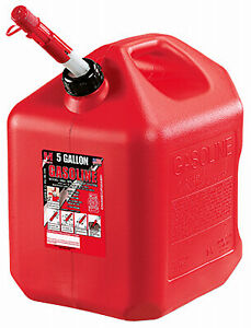 Midwest Can Company 5gal Red Poly Gas Can 5610