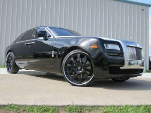 24 Inch Forgiato Concavo Staggered Rolls Royce Ghost Wheels