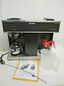 Bunn 04275 0031 Coffee Maker With 3 Warmers Vps Pourover 2 Decanters