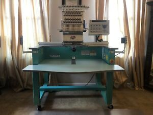 Tajima Single Head Commercial Industrial Embroidery Machine Tehx c1501