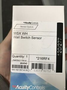 Wall Switch Occupancy Sensor 216rf4 Acuitycontrols