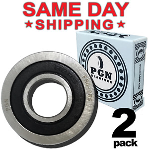 Fr8 2rs Flanged Rubber Sealed Ball Bearing 1 2 x1 1 8 x5 16 Fr8rs 2 Qty