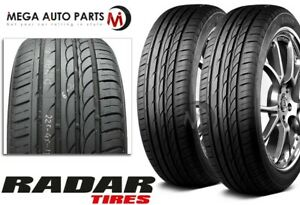 2 New Radar Dimax R8 225 45zr17 Xl 94y All Season Ultra High Performance Tires