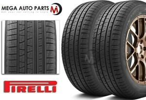 2 Pirelli Scorpion Verde As 255 60r18 112h Xl All Season Performance Tires