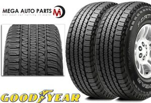 2 New Goodyear Fortera Hl 265 50r20 107t All Season Traction Tires