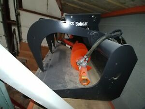 Bobcat Brand 72 Grapple Bucket Skid Steer Attachment never Attached Unused