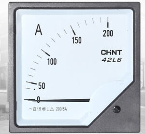 1pc Analogue Needle Ampere Panel Meter 42l6 a 75 5a