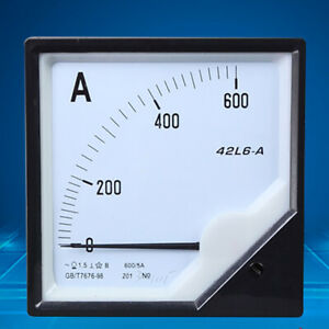 1pc Analogue Needle Ampere Panel Meter 42l6 a 150 5a