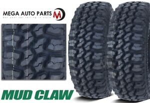 2 Mud Claw Extreme Mt 3110 50r15lt 109q C All Terrain Performance Mud Tires