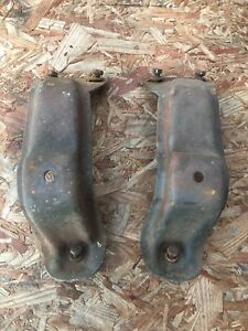 67 72 Chevy Truck 230 250 6 Cylinder Motor Mount Engine Perch Brackets Towers
