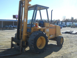 1997 Case 586e Rough Terrain Forklift