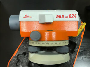 Lecia Wild Na824 Construction Level Includes Case
