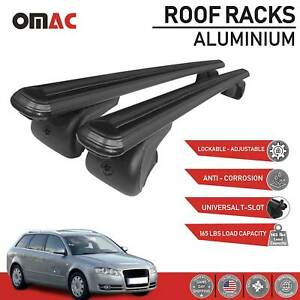 Roof Rack Cross Bars Luggage Carrier Black For Bmw 3 Series Wagon E91 2007 2010