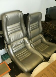 1981 Corvette Very Rare Seats With Tracks Driver S Side Power Seat
