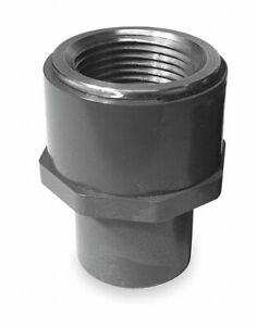 Gf Piping Systems Pvc Transition Adapter Fnpt X Spg 1 Pipe Size Pipe