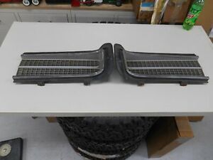 1969 Gto Used Grill Set
