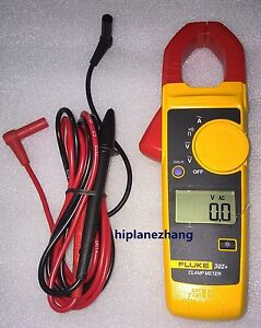 Fluke 302 F302 Digital Clamp Meter V a Ohm Continuity Data Hold Measure Tester