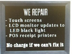 Ibm 4840 Monitor Touch Screen Monitors Repair Upgrade To Led Backlight