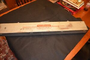 Vintage Porter Cable Hinge Butt Templet template Kit Model 5518 Metal Carry Case