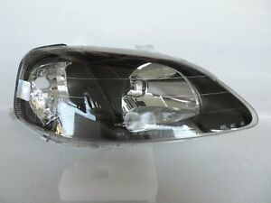 Type R Style Ek9 Ek4 Black Headlight Right R For 1999 2000 Honda Civic Ctr Si