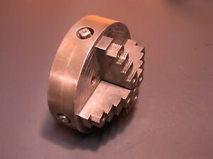 Skinner Independent 4 Jaw Chuck For South Bend Logan Atlas Metal Lathes