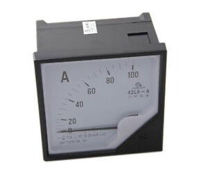 1pc Analogue Needle Ampere Panel Meter 42l6 a 200 5a