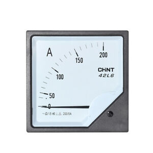1pc Analogue Needle Ampere Panel Meter 42l6 a 3000 5a