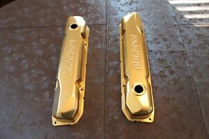 Moroso B Rb 383 440 Gold Valve Covers Mopar Day 2
