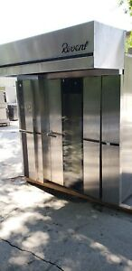 2007 Revent 724 Double Rotating Rack Oven A Lift natural Gas 6 Month Warranty